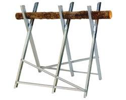 Folding Log Support