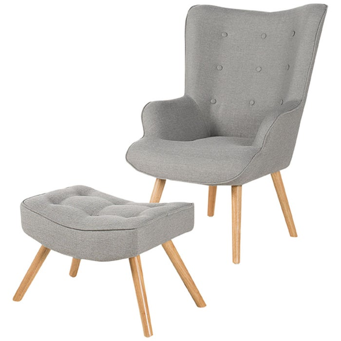 Fauteuil Accent Et Repose Pieds Scandy Vertuo Canac