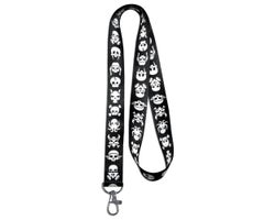 Skull Leash Keychain