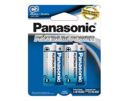 Piles Panasonic C (Paquet de 2)