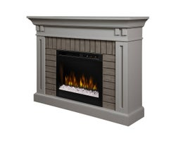 Madison Electric Fireplace , 1500 W Crystals, Stone Grey