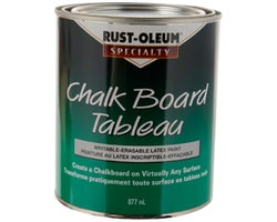 Black Chalkboard Paint 887 ml