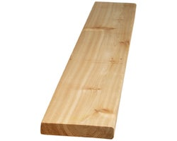 Knotted Cedar Plank1-1/4 in. x 6 in. x 12 ft.