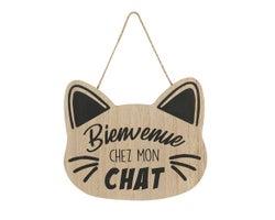 Plaque décorative Chat