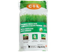 Premium Grass Seed with Fertilizer 2-5-2, 2 kg