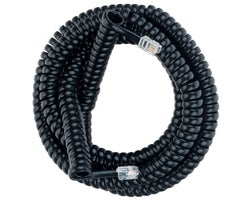 Telephone Receiver Coil Cord 25 ft.