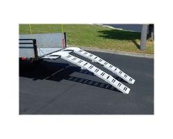 Rampes d'accès pliantes pour véhicules
