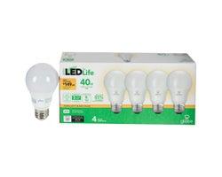 Ampoules DEL  A19 Blanc chaud 6 W (Paquet de 4)
