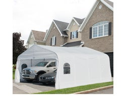 Deluxe Double Car Shelter 18 ft. x 20 ft.