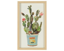 Cactus Wall Decoration 11-7/8 in. x 19-5/8 in.