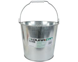 Galvanized Metal Bucket 12 L