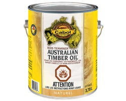 Fini pour le bois Australian Timber Oil Naturel 3,78 ml