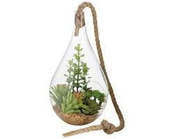 Hanging Artificial Cactus