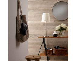 Weld Wooden Panelling, Silver