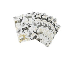 Serviettes de table Cerfs (Paquet de 20)