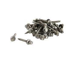 2 in., #9 Galvanized Sheet Metal Screws - (Box of 100)
