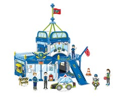 3D Puzzle to Colourable Police Patrol (147 Pieces)