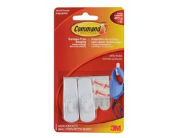 Small Utility Hook(2-Pack)