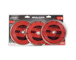 7 in. Diamond Saw Blades(3-Pack)