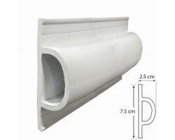 PVC Dock Bumper 25 ft. (D Model)