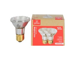 PAR20 Halogen Relfector Light Bulbs 50 W , (2-Pack)