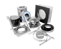 2100° CF Sentinel Chimney Wall Support Kit 6in.