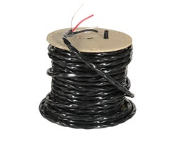 Exterior Electrical Wire, NMW-U - 6/3 Black, (Bulk)