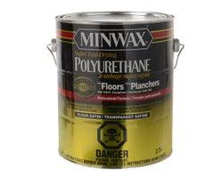 Vernis au polyuréthane pour plancher satiné 3,78 L