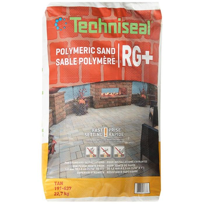 Sable Polymere Pour Paves Rg Tan 22 7 Kg Techniseal Canac