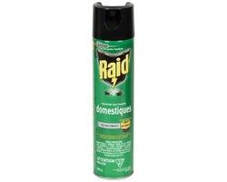 Insecticide Raid pour insectes domestiques 350 g