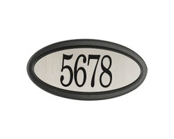 Stainless Steel Address Plaque