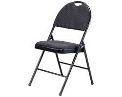 Chaise pliante coussinée