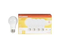 A19 LED Light Bulb Opal 8,5 W (4-Pack)