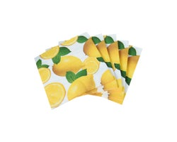 Serviettes de table Citrons (Paquet de 20)