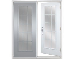A14CI Garden Steel Door (Right hand)