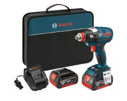 18 V EC Brushless 1/4 in. and 1/2 in. Socket-Ready Impact Driver Kit