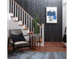 Shiplap Wooden Panelling, Black
