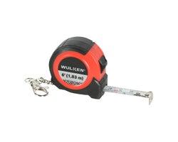 Ruban à mesurer/porte-clés 6 pi