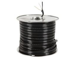 Fil électrique d'extérieur , NMW-U 12/2 Noir , (Vrac)