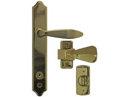 Storm and Screen Door ML Lever Set with Keyed Deadbolt