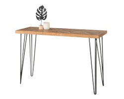 Table console Chevrons