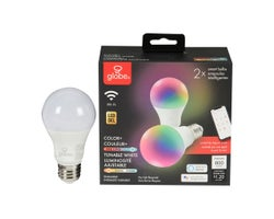 A19 LED Light Smart Bulb 10 W (2-Pack)