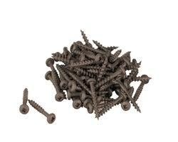 Vis à bois traité brune 1 1/4 po n° 8 T.R. boîte/100
