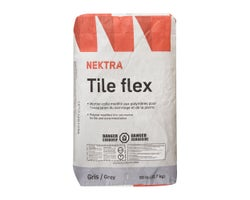 Ciment-colle Tile Flex 22,7 kg