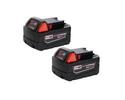 Batteries haute capacitéREDLITHIUM XC 18 V (5,0 Ah) Paquet de 2