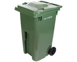 IPL Green Wheeled Bin 240 L