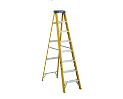 Heavy-Duty Fibreglass Stepladder 8 ft. Grade 1