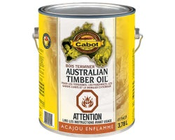 Australian Timber Oil Wood Finish Mahogany Flame 3.78 L