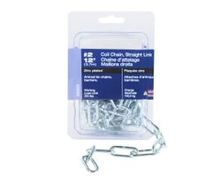 Straight Link Coil Chain #2x12ft.