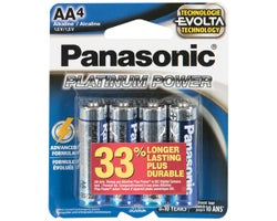 Piles Panasonic AA (Paquet de 4)